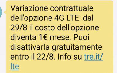 Opzione 4G LTE Attivata a Tradimento: Come Difendersi
