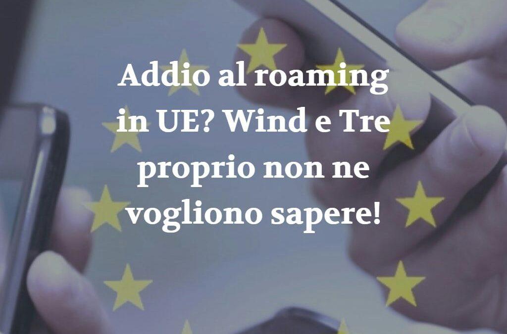 Addio al roaming Europa, Wind e Tre dovranno rimborsare