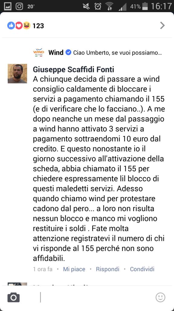 disattivare servizi a pagamento wind ecco come fare