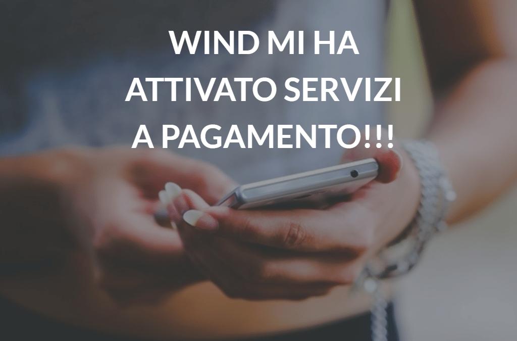 Disattivare servizi a pagamento Wind, ecco come fare
